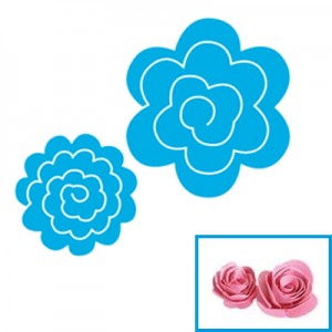 Fustella per Big Shot Sizzix rose 3d