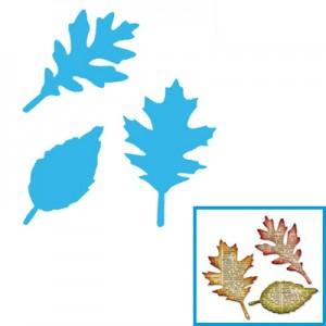 Fustella per Big Shot Sizzix foglie