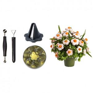 Kit Fiori e Foglie Visual Food