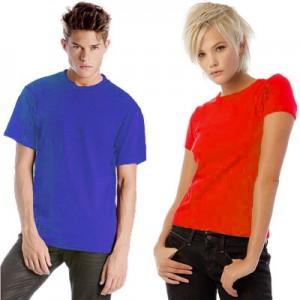 Tshirt Girocollo B&C. Confezione 10 pezzi.