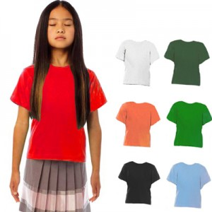 TShirt Exact Kid B&C. Confezione 10 pezzi.