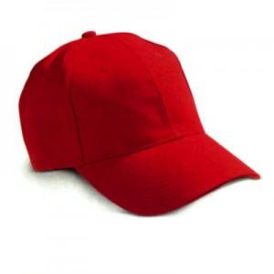 Cappellino da Baseball 6 pannelli. Cotone pesante. Confezione da 10 pezzi.