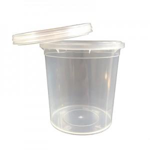 Barattolo in plastica vuoto 120 ml