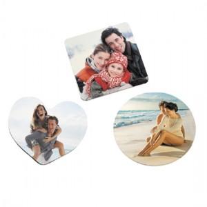 Magnete in Plastica Rotondo - Confezione 10 pezzi