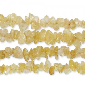 CHIPS 8-10 MM CITRINE X85 CM