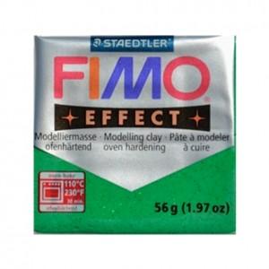 FIMO EFFECT GLITTER VERDE 502 - 56 GR