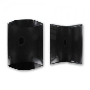 Scatolina regalo in cartoncino nero 8x10x3.5