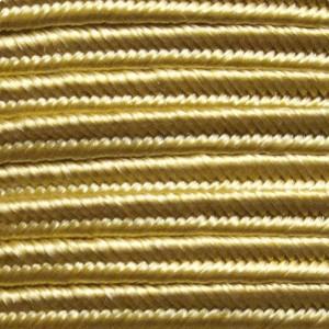 Fettuccia soutache giallo oro