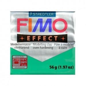 FIMO EFFECT TRASPARENTE VERDE 504 - 56 GR